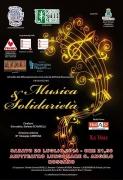 MUSICA & SOLIDARIETA' - 26 luglio 2014 - Ore 21,30 - Anfiteatro Lungomare Rossano